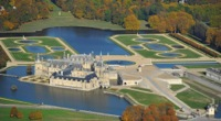 �TANGS DE COMMELLE� / CHANTILLY / PARC DU CH�TEAU